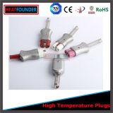 Enchufe de alta temperatura del conector para el calentador de venda