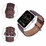 De uitstekende Riem van het Leer van de band van het Horloge van de Vervanging Echte voor Band van het Horloge van de Appel 42mm Band Iwatch
