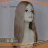 Perruque en soie de cheveux humains de Sheitel première (PPG-l-0259)