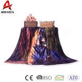 Le decorazioni domestiche del poliestere hanno stampato la coperta di Micromink Sherpa