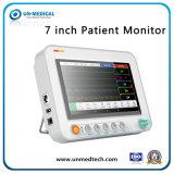 Monitor van de Levensteken van de Monitor van multiparameters de Handbediende Draagbare Geduldige met ECG+NIBP+SpO2