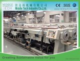 (CE) с высокой скоростью пластиковых ПВХ двойной конвейер/шланга и трубки экструзии бумагоделательной машины