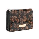 Suporte Bifold da moeda da carteira das mulheres do Short do estilo do vintage (MBNO043108)