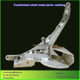 Fabricação de chapas metálicas de soldadura de peças de alumínio de usinagem CNC