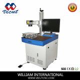 Solides solubles et machines en plastique d'inscription de laser de fibre de machine d'inscription