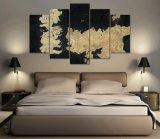 Gestaltetes Spiel des HD Druck-5PCS der Thron-Segeltuch-Wand-Kunst, die modernen Hauptdekor-Wand-Kunst-Abbildung-Druck-Segeltuch-Farbanstrich anstreicht