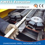 Труба из волнистого листового металла PVC/PP/PE/EVA одностеночная делая машину, пластичный штрангпресс трубы
