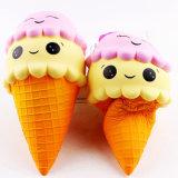Giocattolo Squishy educativo variopinto bello del gelato delle focaccine della doppia crema