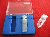Bailo camino óptico de 10mm estándar de 3.5ml celdas de cuarzo con tapón