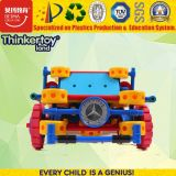 L'alta qualità calda di vendita scherza l'automobile educativa di plastica del giocattolo di 3 puzzle per i capretti