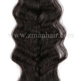女性のための自然な巻き毛の小さいToupee