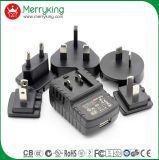 Multi переменного тока с двумя портами USB 5 В 2100Ма портативное зарядное устройство для поездок