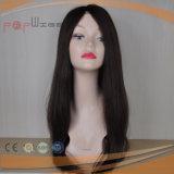 膚触りがよくまっすぐな人間の毛髪の女性のかつら(PPG-l-0745)