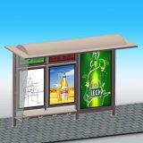 高品質のベンチとの販売のための屋外のバス停の避難所