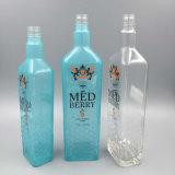 Frasco de vinho de vidro original, vodca/frasco de uísque com geada