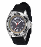 Os homens de qualidade à prova de relógio esportivo com preços direto de fábrica (DC-311)