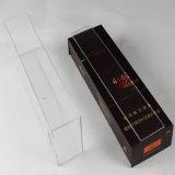 Caja de presentación de acrílico clara del cigarrillo