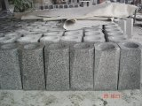 中国の黒い花こう岩の円形のつぼ
