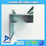 El precio barato del perfil de la ventana de aluminio de la puerta para el mercado de Guinea anodizó final del molino