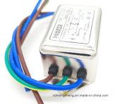 Filtro da linha eléctrica da C.A. da fase monofásica de filtro para iem da compatibilidade electrónica