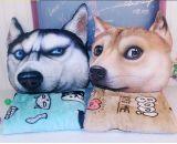 [3د] طباعة كلب وجه مسند حيوان يشكّل وسادة ظهر وسادة