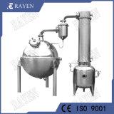Leche sanitarias de evaporación en vacío Evaporador de acero inoxidable