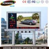 Pleine couleur P10 étanche à l'extérieur de la publicité de l'écran à affichage LED
