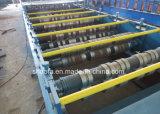Rullo d'acciaio del comitato di Decking del pavimento di profilo del metallo che forma macchina