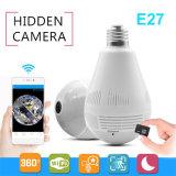 360 камера IP камеры электрической лампочки камеры 960p Fisheye степени беспроволочная панорамная