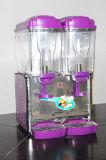 二重タンク18 L商業冷たいジュースディスペンサーか冷たい飲料ディスペンサー