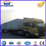 トラックのための48feet/53feet大きいBox CargoヴァンSemi Trailer