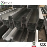 建築材料の橋床の電流を通された波形の鋼鉄屋根シート