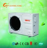 L'air chauffe-eau de source de la pompe à chaleur avec l'enveloppe extérieure en plastique