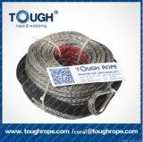 La corde tous terrains synthétique de la corde UHMWPE de treuil de main avertissent la corde de treuil