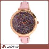 Reloj de la señora acero inoxidable de la manera con la dial colorida