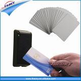 Cartão esperto da alta freqüência 13.56MHz NFC do tamanho do cartão de crédito Cr80