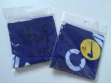 I prodotti della fabbrica hanno personalizzato la fascia tubolare del collo dell'azzurro stampata marchio 25*50cm Microfiber