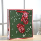 Bolsa de papel, bolsa de papel del guante de la Navidad, bolsa de papel del regalo
