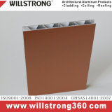 Il comitato composito di alluminio per la facciata dei sistemi della parete costruisce le soluzioni della costruzione