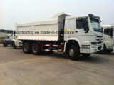 Chinahowo 6 X4 광석 유형 물통 덤프 트럭