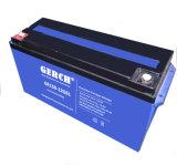 12V 55ah 유지 보수가 필요 없는 젤 건전지 제조자, 태양 전지, 풍력 건전지, UPS 건전지, EPS 통신 의료 기기 건전지
