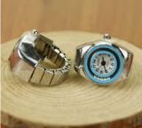Reloj del regalo de la caja de la aleación del reloj del dedo para las señoras