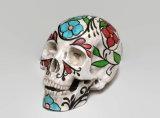 Decorazione del cranio di arte della resina