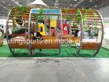 Kind-quadratisches sicheres im Freienspielplatz-Gerät