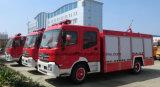 두 배 대원 4X2 8000L 물 탱크 2000 L 거품 탱크 소방차 트럭