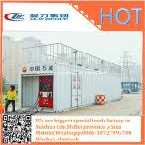 O móbil estação de tanque móvel do ISO do petróleo do recipiente reabastece & de armazenamento