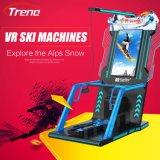 Máquina de juego popular del simulador del esquí de Vr del producto de la diversión de la arcada de la invención