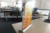 Table en aluminium double face Roll up Banner Stand/Sidedaluminum double Mini Roll up Stand de bannière