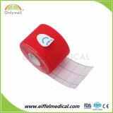Fabrication Médical Sports Kinésiologie bande avec haut de la colle