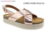 As mulheres confortável Flatform Senhora EVA sapatos e sandálias de plataforma de cunha